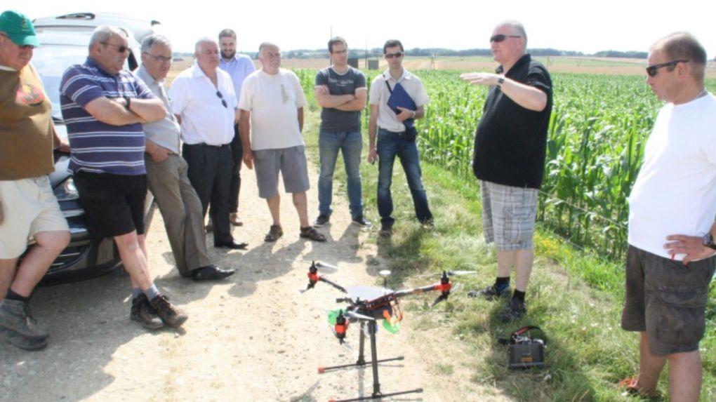 drone effaroucheur pigeons