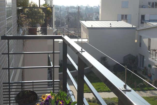 repulsif pigeon pour balcon