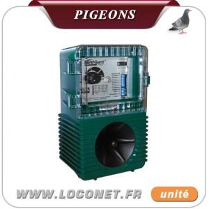 ultrason pigeon frequence