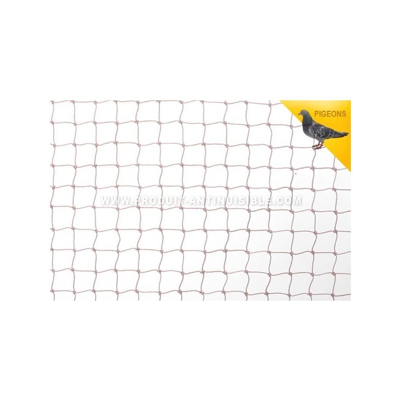 filet anti pigeons 10x10 maille 50 noir