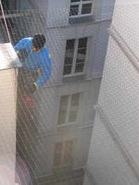 filet de protection anti pigeon